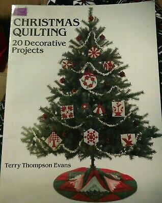 Dover Needlework Series Christmas Quilting 20 Decorative Projects Holiday sewing