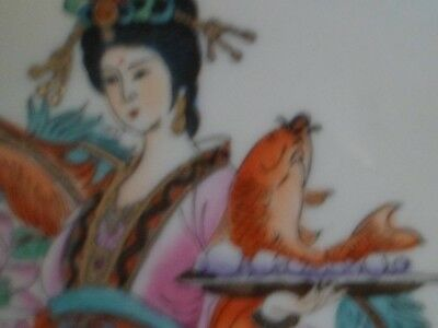 assiette asiatique , porcelaine de Chine , Japon , Imari ? ....