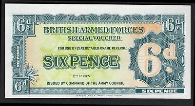 GB Military; British Armed Forces. 6 pence. (1948). Thread. (Pick M17a). AU.