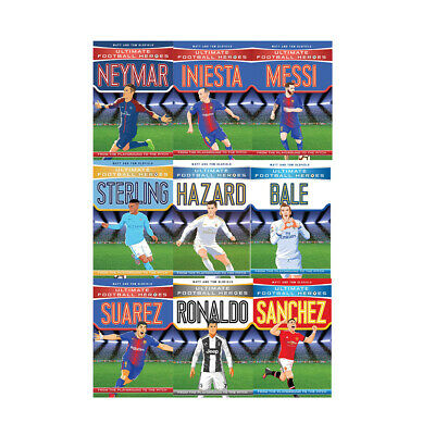 Ultimate Football Heroes Series 2 Collection 8 Books Set Matt & Tom Oldfield NEW