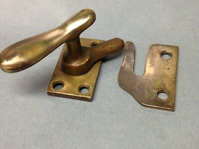 Antique Vintage Cast Iron Window Sash Lock Latch Part