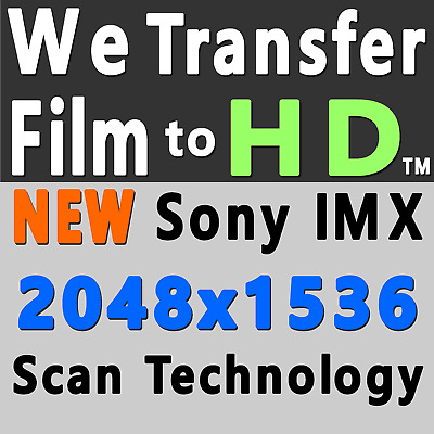 8mm Film to DVD (MOV & MP4 Video Saved to DVD) Convert Transfer to 1920 x 1080p