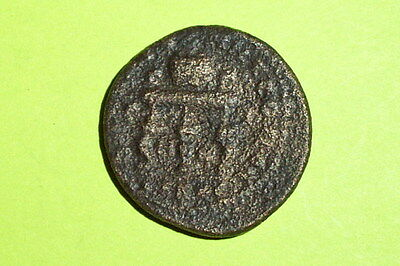 Valerian I 253 AD Cilicia Anazarbus ancient ROMAN COIN prize urn table G antique