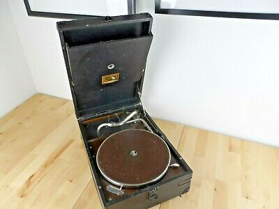 Vintage/Retro HMV 101 or 102 Wind Up Gramophone Working Condition