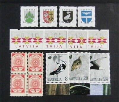 nystamps Russia Latvija Stamp # 6//398 Mint OG NH $30