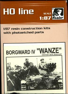 Hauler Models 1/87 BORGWARD IV WANZE German Anti-Tank Vehicle