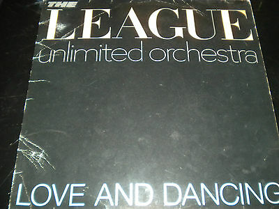 The League Unlimited Orchestra - Love And Dansant - Vinyle Enregistrement LP