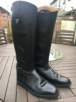Rectiligne Leather Riding Boots Size 9 (43)