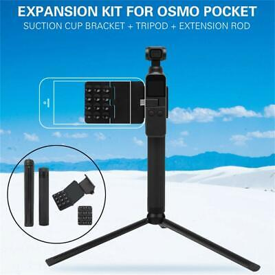 For DJI OSMO POCKET & Phone Shooting Suction Cup Bracket / Tripod / Extend Rod