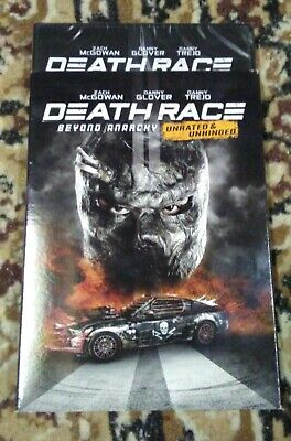 Death Race: Beyond Anarchy (DVD, 2018) New sealed W/Slipcover rareoop