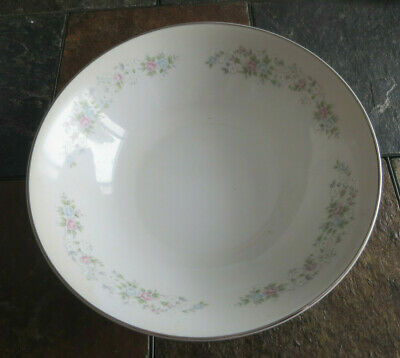"Carlton Japan Corsage 9"" Round Serving Bowl Pattern 481"