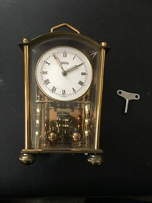 Vintage Welby  Germany Anniversary, Shelf, Mantle Clock Untested As Is L@@k!!!