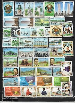 Nauru - Lot Of Early Unused MH/OG Stamps (NAU2)