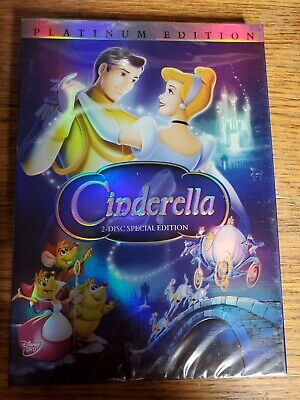 Cinderella (DVD, 2005, 2-Disc Set, Special Edition - DVD Platinum Collection)