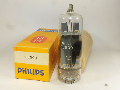 one NOS PL509 Philips, in box & never used tubes.