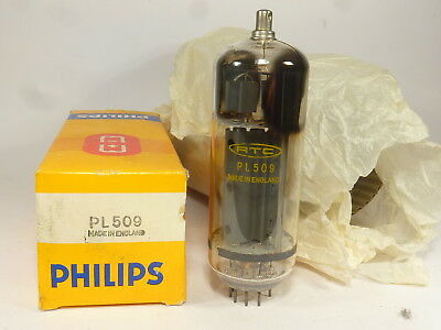 one NOS PL509 RTC Philips made in England, B code, never used tubes.