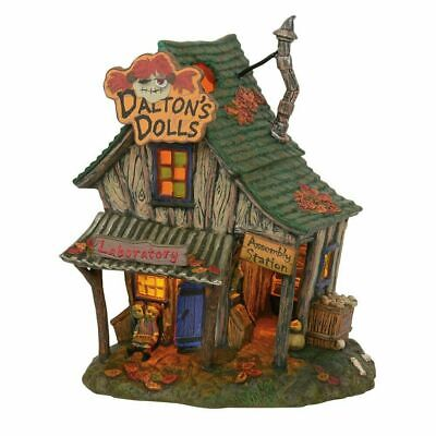 Department 56 Halloween Village New 2019 DALTON'S HOUSE OF DOLLS 6003159 dept
