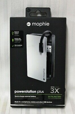 Mophie Powerstation Plus 3x 5000mAh Micro USB Quick Charge External Battery