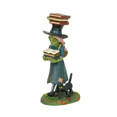 Department 56 Halloween Village New 2019 NO SPELL UNLEARNED 6003166 SACIA'S