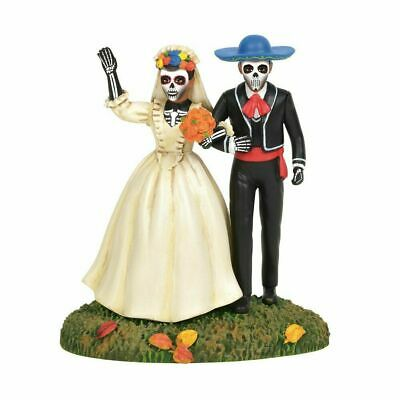 Department 56 Halloween Village 2019 DAY OF THE DEAD ETERNAL LOVE 6003170 House