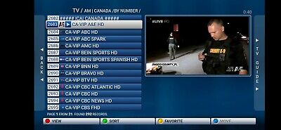 12 months IPTV SUBSCRIPTION for MAG250/254/256, Android, SmartTV, M3U