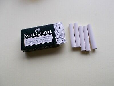 5 FABER CASTELL GRIP PLUS ERASERS new