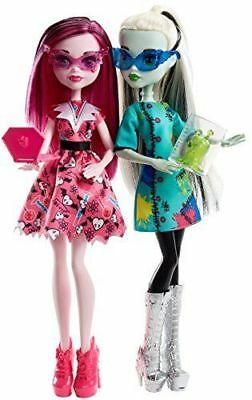 Monster High Voltageous Science Class Frankie Stein & Draculaura Dolls New
