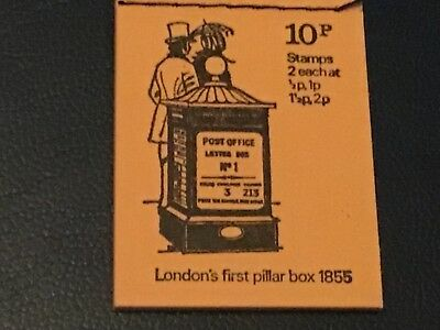 GB APRIL 1971  10 p BOOKLET With STAMPS U/MINT.        VERY NICE