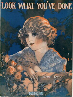 Look What You've Done, 1918 vintage sheet music