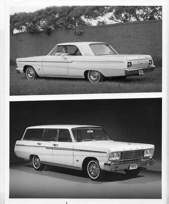 1965 FORD FAIRLANE Sports Coupe & 500 Station Wagon Press Photo & Release  0064