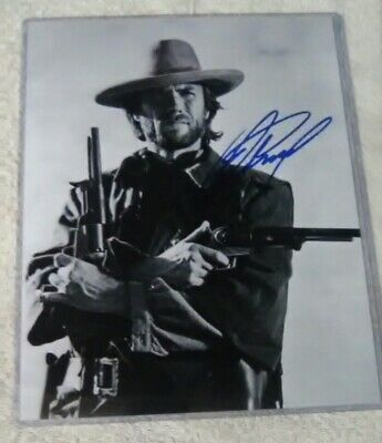 CLINT EASTWOOD SIgned Autographed 8x10 Photo Authentic OUTLAW JOSEY WALES