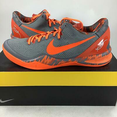 pretty nice 225e0 2c03d 2013 RARE Nike Kobe 8 System PP Silver, team orange, 613959005 Sz 9,