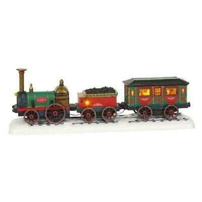 Dept 56 Dickens Village New 2019 THE EMERALD EXPRESS TRAIN 6003073 Department 56