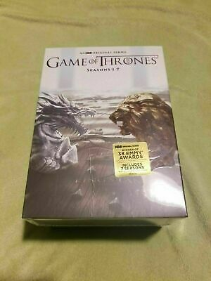 New Game of Thrones: The Complete Seasons 1-7  34 DVD Collection Set