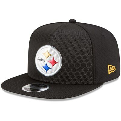 reputable site 252ed 13c51 Pittsburgh Steelers Nfl New Era 9Fifty Color Rush Osfm Snapback Osfm Hat Cap  Nwt
