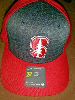 sports shoes ba678 211b7 NEW Stanford Cardinal NIKE Flex Fit hat Adult fitted large LOOK new NCAA