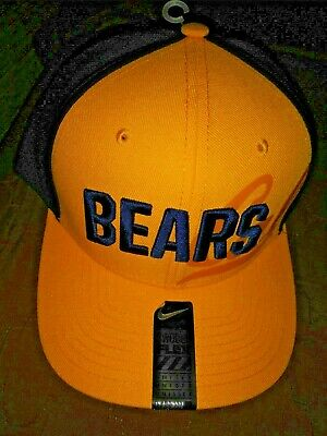 117cb9b1e00 NEW CAL BEARS NIKE Flex Fit hat Adult fitted large LOOK new NCAA ...