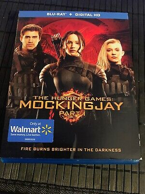 The Hunger Games: MockingJay Part 1 (Blu Ray) MINT Disc Free Shipping