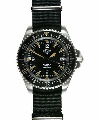 Military Industries Automatic 24 Jewel 1982 Pattern 300m / 1000ft Divers Watch