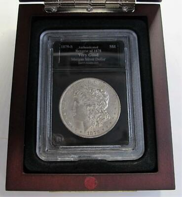 1879-S U.S. Morgan Silver Dollar * Reverse Of 1878 * High Grade * In Display Box