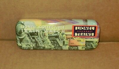 ".. Lionel Collectible Train Watch .. Metal .. ""Empty Case Only"""