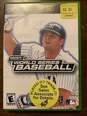 World Series Baseball - Xbox - Complete W/ Manual -Free S/H - (B38A)