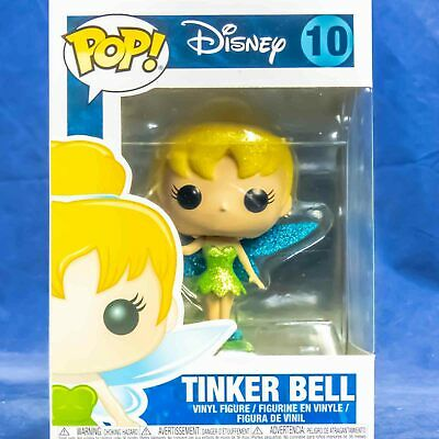 Funko Pop Vinyl Figure Disney Peter Pan #10 Tinker Bell Diamond Collection