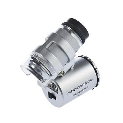 60X Zoom Camera Optical LED Magnifier Microscope Micro Lens Cellphone AE