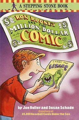 Ron Rooney and the Million Dollar Comic (A Stepping Stone Book(TM)) Schade, Sus