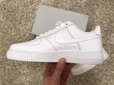 NIKE AIR FORCE 1 '07 Low Men's White & Brand New Free