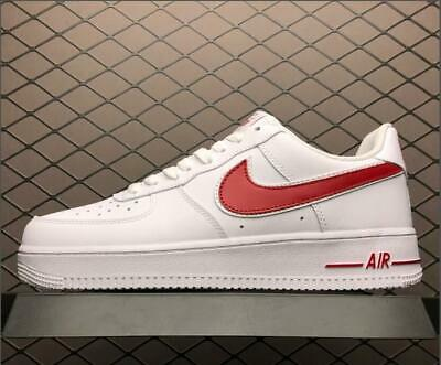 factory authentic 7dcd6 c6b81 New Air Force 1  07 Low Shoe White Gym Red AO2423-102 Men s