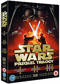 Star Wars Trilogy: Episodes I, II And III [DVD], DVD, New, FREE & Fast Delivery