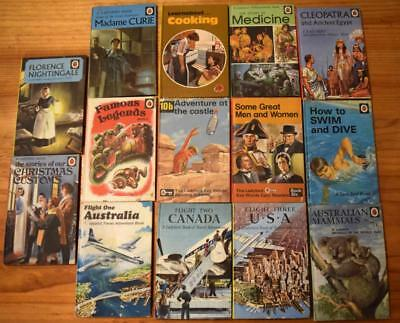 Bulk Lot of 14 Vintage Ladybird Books - See 20 photos