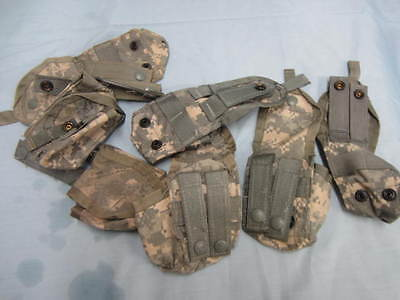US Military Single Hand Grenade Utility Pouch Pocket  ACU 8465-01-525-0589 EXC